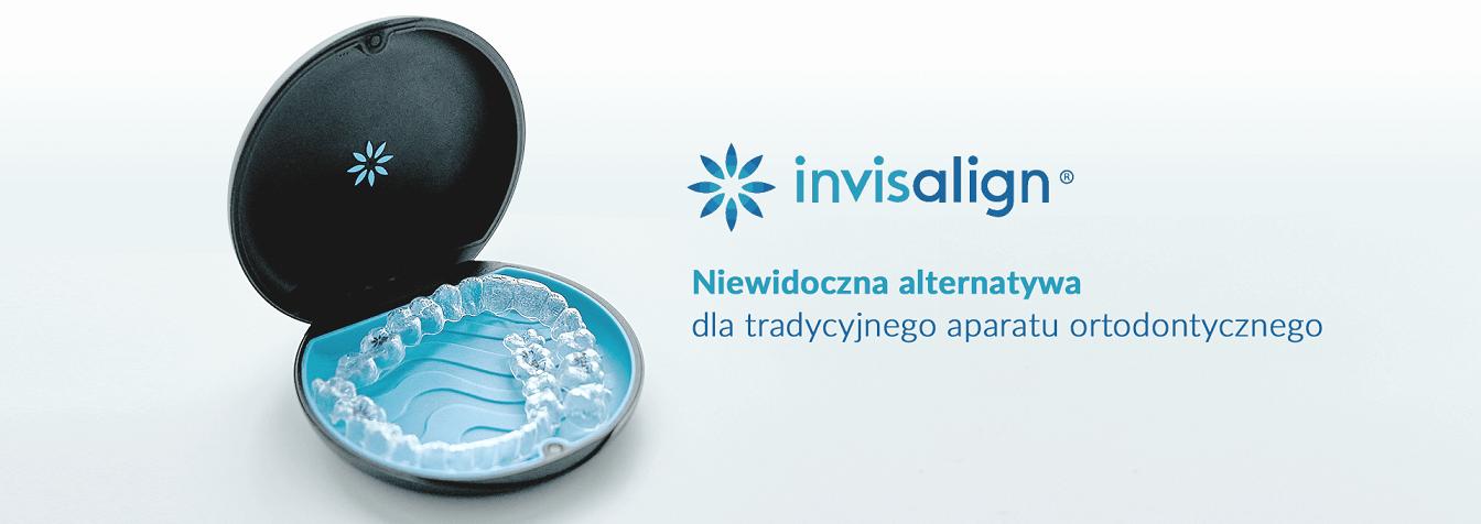 Invisalign - aparat ortodontyczny Warszawa